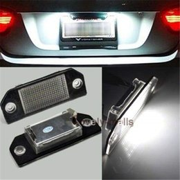 Plate Lights Led Number License Plate Lights Lamp Xenon White For Ford Focus C Max Mk Error Free Free Shipping
