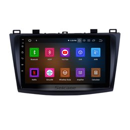 $enCountryForm.capitalKeyWord NZ - 9 inch Android 9.0 Car GPS Radio for 2009-2012 Mazda 3 Axela with HD 1024*600 Touchscreen Bluetooth WIFI support Rearview Camera car dvd