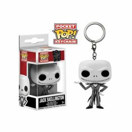 classic q 2019 - Christmas Night Cry Funko POP Jack Keychain Pendant Jack Q Edition Keychain Pendant cheap classic q