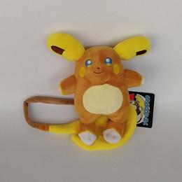 "raichu plush toys 2019 - High Quality New 100% Cotton Raichu Pikachu Plush Toy For Child Holiday Best Gifts 8"" 20cm cheap raichu plush toys"