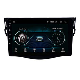 "toyota rav4 stereo gps Australia - Android 9.0 9"" 2 Din Car GPS Navi Radio for 2007-2013 Toyota RAV4 Head Unit support Bluetooth wifi Steering wheel control"