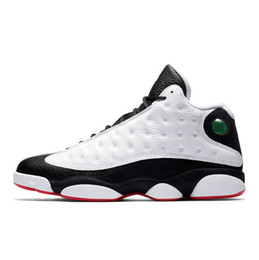 best sneakers ef6fa 5837c 2019 New 13 He Got Game men basketball shoes Phantom black cat Chicago bred  Melo Class of 2003 Hyper Royal baskets sports sneaker