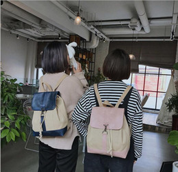 Styles Backpacks Australia - Preppy style students School bags Harujuku Fahion backpack Vintage Girls Shouler bag Mori girl Canvas backpack Travel Cute bag