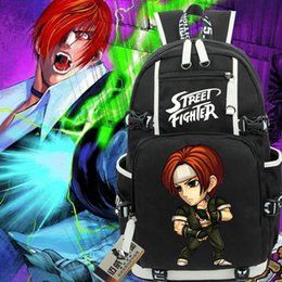 $enCountryForm.capitalKeyWord Australia - Kyo Kusanagi backpack The king of fighters day pack Cool school bag Classic game packsack Laptop rucksack Sport schoolbag Outdoor daypack