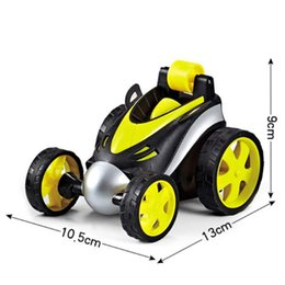 rc super cars NZ - Super Stunt Dancing RC Tumbling Electric Controlled Mini Car Funny Rolling Rotating Wheel Vehicle Toys for Birthday Gifts Y200414