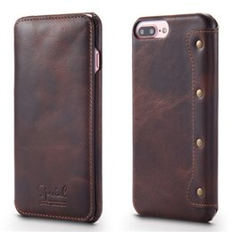 $enCountryForm.capitalKeyWord Australia - Luxury Flip Phone Wallet For Apple Iphone 6 Case Top Quality Cowhide Leather For Iphone 7 Case 7 Plus Back Cover For Iphone 6s T190710