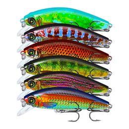 $enCountryForm.capitalKeyWord Australia - New Realistic Fish Suspending Jerkbait 6colors 8cm 10.5g Shallow Diving provocative retrieval hard Minnow lure