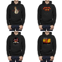cute puppets UK - Men Design Printing Metallica Master of Puppets 3 black Oversized Sweatshirt Personalised Superhero Cute Hoodie Lulu Reload Load No Life