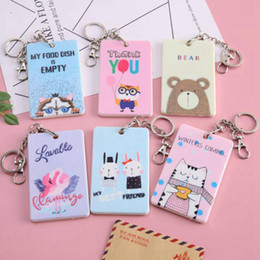 $enCountryForm.capitalKeyWord Australia - Cartoon Credit Card Holder Cover Case Women Pvc Cute Kids Bank Id Card Bag Wallet Female Porte Carte Passport Cover Kaarthouder