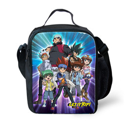 anime box 2019 - Advocator Printed Anime Beyblade Burst Evolution Printing Lunch Bags for Teenager Kids Children Thermal Lunch Box for Pi