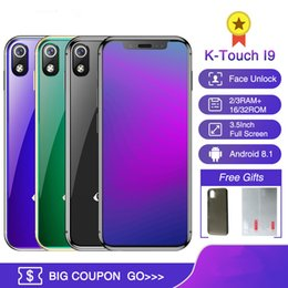 Wholesale Original K TOUCH I9 GB GB Cell phone Face ID Identification inch MTK6739 Quad Core Android Smartphone G LTE Luxury Gold mobile