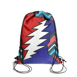 $enCountryForm.capitalKeyWord UK - Wisconsin grateful deadFashion sports belt backpack, design pop pattern durable and convenient string package, suitable for sports