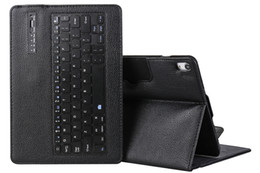 Smart Tablets NZ - Detachable Wireless Bluetooth Keyboard with Litchi Leather Smart Case Cover for Apple iPad Pro 11 A1979 A1980 A1934 A2013 Tablet+Stylus