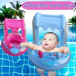 $enCountryForm.capitalKeyWord Australia - Summer Float Safety Swimming Toys Tools Cartoon Shark Float Kids Swimming Whale Swim Seat Baby Inflatable Pool