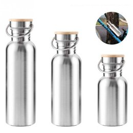 $enCountryForm.capitalKeyWord Australia - 300 500 750ml Stainless Steel Wide Mouth Water Bottle Cycle Mountain Climbing Sports Water Jug T8190703