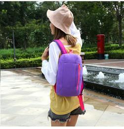 $enCountryForm.capitalKeyWord NZ - Multicolors Unisex Students Backpacks Bags Mini Backpack Casual Travel Mountain Climbing Bags Ipad Bag Waterproof Knapsack