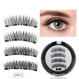 3398a5b589d Magnetic Eyelashes Natural 3D False Eyelashes Extension Tools 3D Magnetic  False Eye Lashes with Gift Box