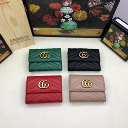 Business change holder online shopping - Women s wallet European and American classic fashion style a variety of color options short money change card bag free of freight G046