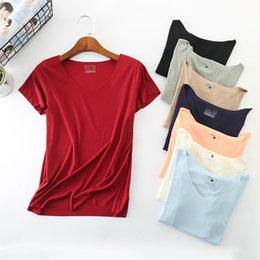 Kimono Tshirt NZ - Summer T Women 100% Cotton Short Sleeves Tee Shirt High Elasticity Breathable Top Female Tshirt Camiseta Feminina D96 Q190507