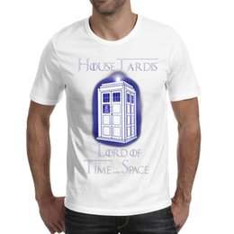 $enCountryForm.capitalKeyWord NZ - Men design printing Doctor Who Time Space white t shirt printing personalised vintage make a champion shirts awesome t shirt creator tr