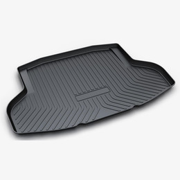 car boot liners UK - Fit for 2006-2017 Car trunk tray net carpet organizers accessories anti slip boot liner cover floor rubber mats rugs