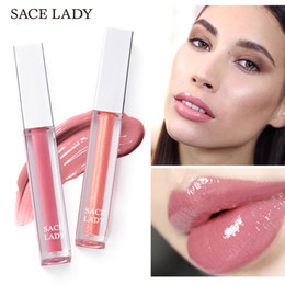 $enCountryForm.capitalKeyWord Australia - SACE LADY 9Color Plumper 3D Mirror Lipstick Glaze Moisturizes Glass Lip Full Sexy Big Lips Pump Shape Long Lasting Liquid Lipgloss Make Up