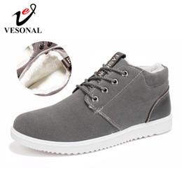 $enCountryForm.capitalKeyWord Australia - VESONAL Brand Winter Warm Short Plush Casual Men Shoes For Adult Flats Fashion Sneakers Men Footwear Driving Male Walking Shoes