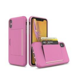 Hide Wallet Australia - For Motorola G7 Power Plus Supra Wallet Card Slot Holder Hidden Back Full Body Shock Absorption Protective Phone Case Cover