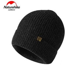 $enCountryForm.capitalKeyWord Australia - Naturehike Winter Windproof Hiking Caps Thermal Wool Knitted Sports Caps Skiing Cycling Running Hat For Women Men