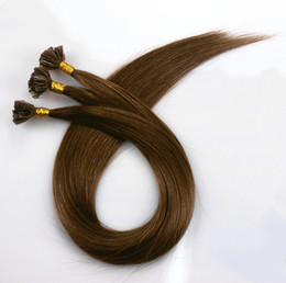 ItalIan wave haIr online shopping - Good price g quot quot quot quot quot quot Prebonded Italian Keratin Nail Tip U tip Fusion Indian Remy Human Hair Extensions