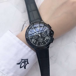 Best Christmas Gifts For Men Australia - 2019 Best Gift All Dials work Luxury Watch Fashion men watches quartz watch with calendar Top Brand calibre Wristwatches for Men Male clock