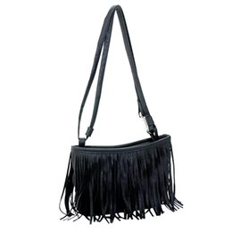 $enCountryForm.capitalKeyWord UK - New Elegant Shoulder Bag Women Wild Simple Messenger Bag For Girls Fashion Tassel Casual Diagonal Package Shoulder Bags K613