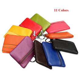 $enCountryForm.capitalKeyWord Australia - Genuine Leather Coin Purse Women Small Wallet Change Purses Mini Zipper Money Bags Children's Pocket Wallets Key Holder