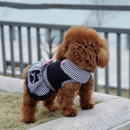$enCountryForm.capitalKeyWord Australia - Pet Dog Clothes Dress Spring Summer Clothing For Dogs Pet Products Cute Chihuahua Clothing Teddy Yorkie New