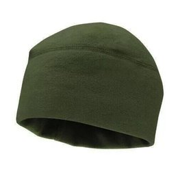 fitted tactical hats UK - Unisex Winter Warm Sports Hat Cap For Running Jogging Marathon Travelling Cycling Outdoor Fleece Military Tactical Hiking Cap