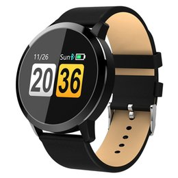 $enCountryForm.capitalKeyWord Australia - Smart Watch Fitness Q8 Smart Bracelet Color Screen SmartWatch IP67 Waterproof Heart Rate Monitor Pedometer Bluetooth Smart Wristband