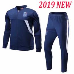 Full Zip Jacket Polyester Australia - A+++ Italy jacket training football 2017 2018 2019 Full zip hoodie futbol BONUCCI PIRLO BUFFON INSIGNE VERRATTI DE ROSSI soccer survetement