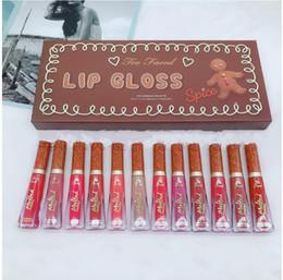 $enCountryForm.capitalKeyWord Australia - New Face Makeup Christmas 12 colors Melted Matte Liquid Lipstick Set Lipgloss Kit DHL Free Shipping