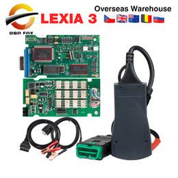 Discount code lexia 2018 lexia 3 pp2000 Diagbox V7.83 for citroen for peugeot lexia3 pp2000 diagnostic tool lexia lexia-3 scanner DHL free