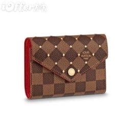 mini studs Australia - N61013 Women Canvas Stud Victorine Wallet Purse Bag Wallet Purse Belt Bags Mini Bags Clutches Exotics
