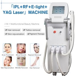 Laser rejuvenation treatment online shopping - New arrival nd yag laser Birthmark removal tattoo removal Black doll treatment e light skin rejuvenation shr hair removal rf ipl