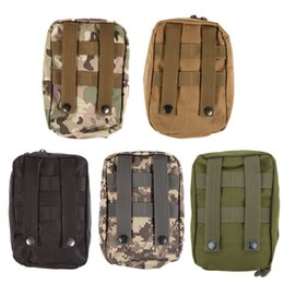 Discount camouflage paintball - Wilderness Survival Travel Camping Medical Emergency First Aid Kit Treatment Pack Military Airsoft Paintball Molle Nylon