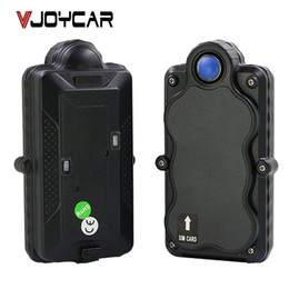 Gsm Gprs Gps Australia - Accessories Trackers VJOYCAR TK05 5000mAh GSM GPRS WiFi GPS Tracker GPS Data Logger Rechargeable Removable Battery Powerful Magnet SOS V...