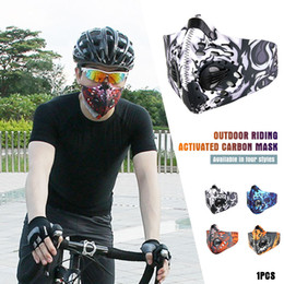 Discount dust mask pollution - Filtration Portable Respirator Activated Carbon Climbing Haze Mask Anti-Pollution Warmth Dust-Proof Breathing Dropshippi