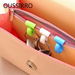 $enCountryForm.capitalKeyWord NZ - 2X Novelty Home Plastic Mini Cute Creative Anti-lost Hook Bag Key Hanger Storage Holder Rack