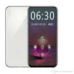 $enCountryForm.capitalKeyWord NZ - 5.8inch Goophone X 1GBRAM 16GBROM MTK6580 Quad Core 8MP FaceID Wireless Charge Sealed Box Real 4G LTE Andriod Cell Phone