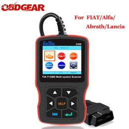 $enCountryForm.capitalKeyWord Australia - Creator C508 OBDII EOBD Scanner Airbag ABS Diagnostic Car New OBD 2 Auto Multi-System Scanner Tool for FIAT Alfa Abrath Lancia