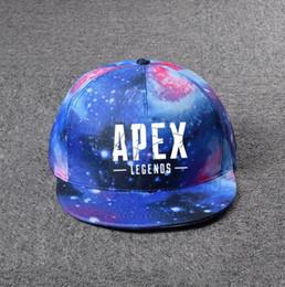 $enCountryForm.capitalKeyWord Australia - Hot game Apex legends Star cap mark print Fashion boys and girls student cap Hats Adjustable Baseball Cap toy gifts