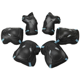 Wrist roller online shopping - Protective Gear Protector Set Kids Adult Inline Roller skates longboard skateboard Scooter Elbow Knee Wrist Safety Pads