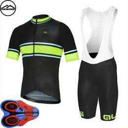 Mtb Clothing Sale Australia - team ale cycling jersey set 100% Polyester Cycling Clothing Short sleeve quick dry Hot Sale bike clothing MTB Ropa Ciclismo Bicycle maillot